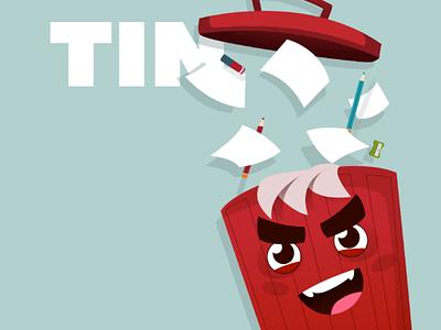 TIN | NETAFIM | GA-DA video app illustration vectorart vector flat 2d animation characterdesign