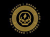 Skull - Dream, Risk, Create