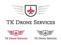 TK Drone Services Logo