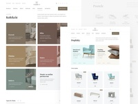 Ferreti listing pages website webdesign web ux ui sleep minimal interior homepage home header ecommerce clean