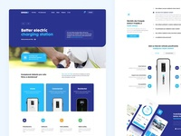 Sminn Electromobility minimal homepage car header ecommerce clean website webdesign web ux ui landing