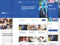 Webdesign for SIOV
