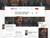 Political project Sluby.sme.sk