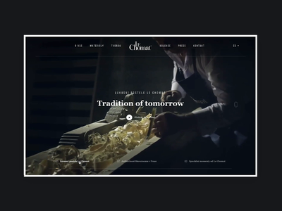 LeChomat luxury beds ONLINE luxury bed czech responsive animation typography header landing page house minimal simple homepage website clean ui ux webdesign landing web design