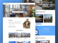Real Estate Agent Platform - Homepage