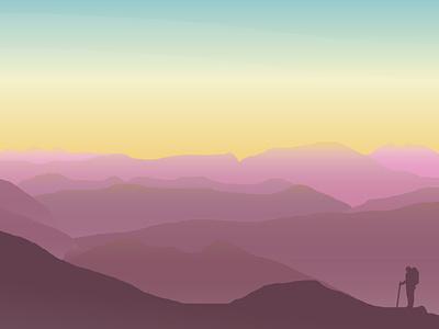 A Short Break vector minimal illustrator graphic design illustration