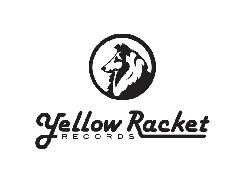 Yellow Racket Logo design chattanooga identity illustration logo