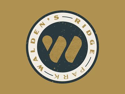 Walden's Ridge Identity - Badge Logo state park climbing mountain bike mtb park identity logo badge tennessee chattanooga