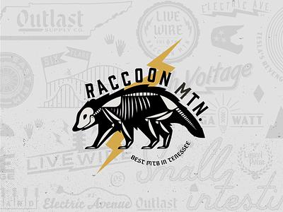 Raccoon Mountain badges chattanooga