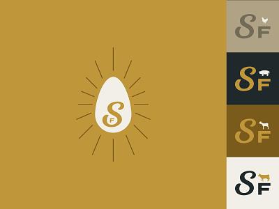 Stabler Farms - Social Icons family farm farm farm logo design branding illustration logo chattanooga identity
