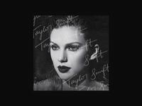 Taylor Swift reputation Album Cover Concept 1