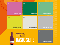 Basic Set 3 Colors Ad