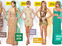 Taylor Swift American Music Awards Fashion Timeline WIP