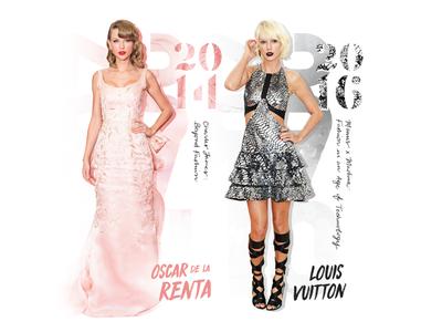 Taylor Swift Costume Institute Met Gala Fashion Timeline WIP