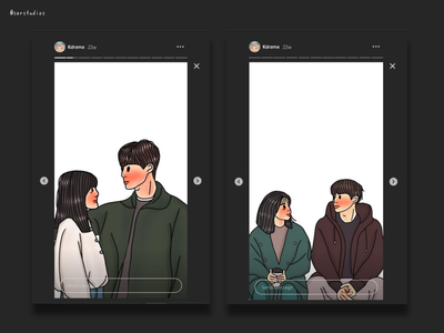 365: Repeat The Year Fanart wallpaper design wallpaper black theme illustration digital drawing artwork instagram template instagram stories fanart