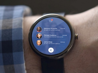 Facebook android wear concept design android wear concept design facebook android wear facebook android facebook