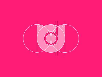Desainia Logo Design Process negative space logo concept d icon flat minimal logo identity branding identity design branding
