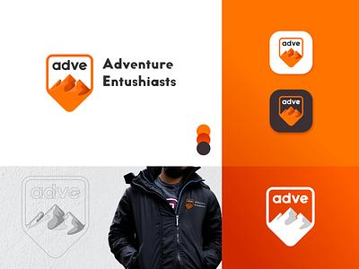 ADVE Logo Design clothing brand clothing design icon minimal logotype logo design logo brand identity identity branding identity design branding