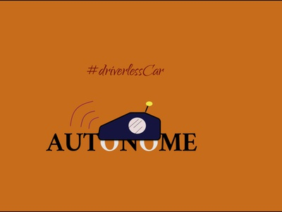 Autonomous Car icon logo @daily-ui @logodesign @design