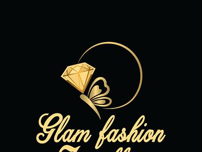 Glam fashion jewellery minimal design branding adobe photoshop logo vector illustrator illustration adobe illustrator