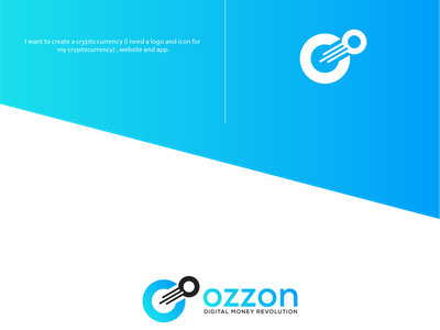 Ozzon icon app design logo branding