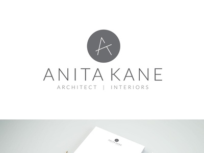 Brand identity for an architect simplistic clean architect logo branding design