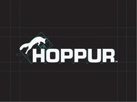 Hoppur - Agricultural Machinery (Logotype)