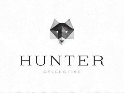 Hunter Collective logo branding wolf identity brioche