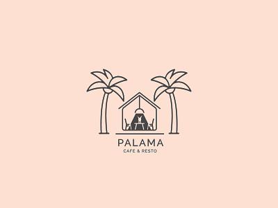 PALAMA Cafe and Resto Branding Logo Design icon app design uiux illustrator uiinspiration graphic design logo inspiration logo design logodesign logo branding concept brandidentity branding design branding