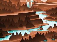 Exploring upstream