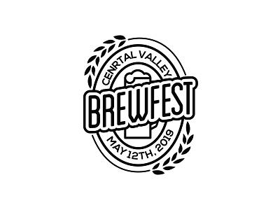 CV Brewfest brewing company brewing brewery festival logo brewery logo beer brew