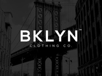 BKLYN Clothing Co. Logo Concept