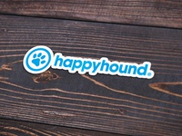 Happyhound Sticker