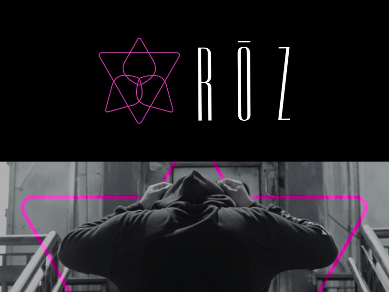 RŌZ beats trance edm glitch pink minimalistic tech music roz rose
