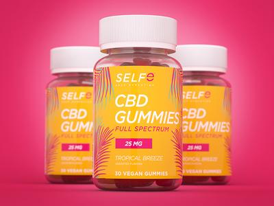 SELFe CBD Gummies Packaging