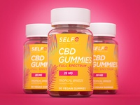 SELFe CBD Gummies Packaging
