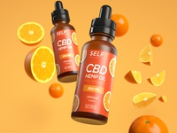 SELFe CBD Orange Packaging
