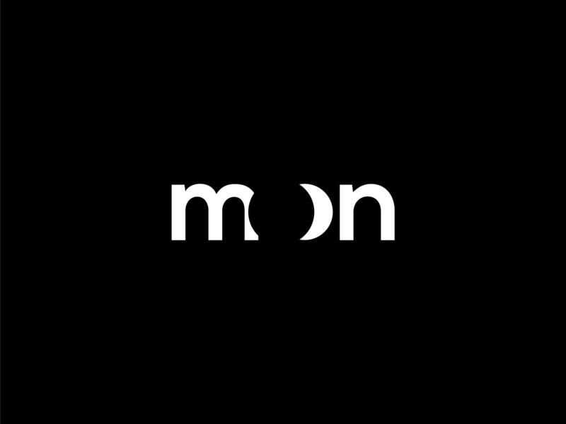 Moon space logo identity branding moon