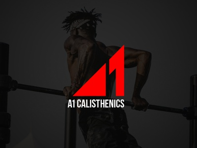 A1 Calisthenics active logo active fitness logo fitness workout logo workout calisthenics