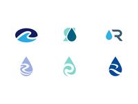 R Water Drops