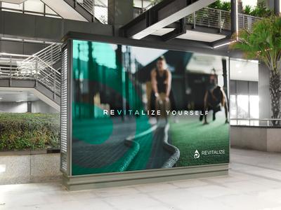Revitalize IV Lounge Billboard