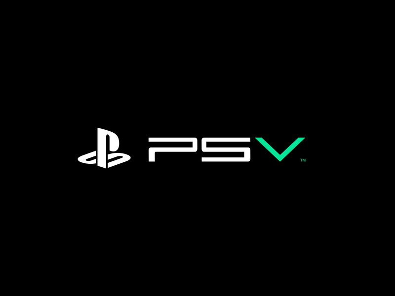 PS5 future modern green neon playstaion ps5