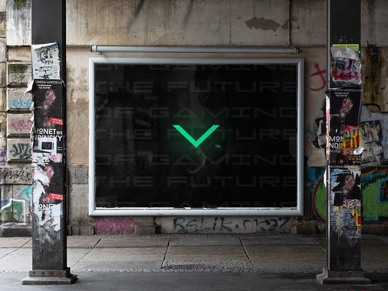 the future of gaming green neon colors urban modern playstaion ps5