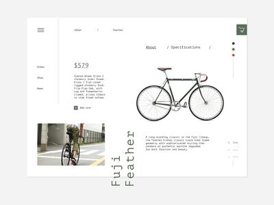 Fuji Bikes product page