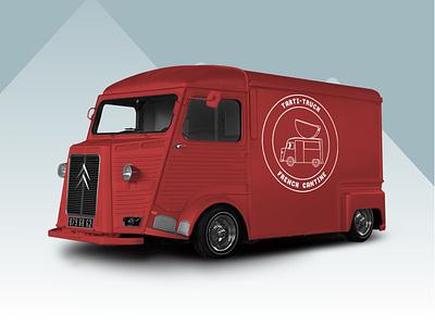 Tarti-Truck food truck impec design logo design design logodesign logo branding
