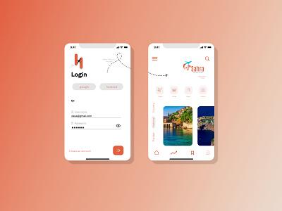 Discover Travel App mobile app mobile design mobile ui