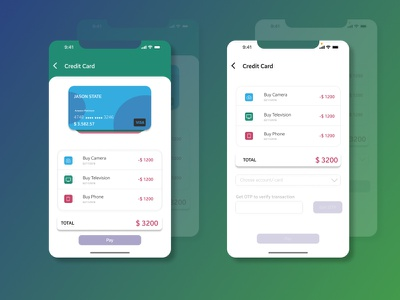 Credit App mobile app design mobile app ui mobile