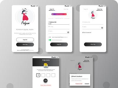 Fashion  Competition App uxui mobile app design mobile ui ui mobile