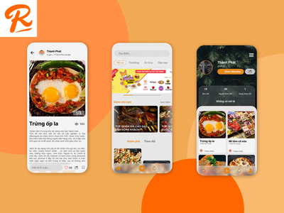 Remake Riviu app app design ui ux