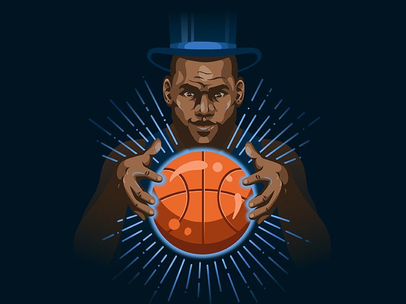 Do You Believe in Magic? espn king james magician orlando magic orlando magic basketball lebron james lebron nba